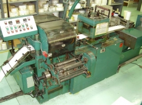 Label printing machine JORES 8000, 3x letterpress unit