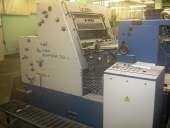 Used 2 colour offset printer KBA Rapida 72K