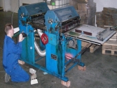 Used 2 colour printer for sacs/sheets DCM MECEM IM 2 76