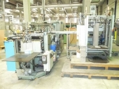 Used Rigid top cover making machine / Case liner PERONDI SV 80