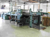 Used Varnishing machine Billhoefer Partiomat GULASPEED