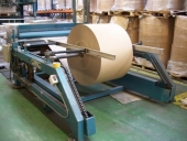 Used Laminator ASITRADE, reel to sheet, size max: 1400x1600 mm
