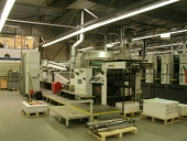 Used Steinemann Top Spot 102 Spot and Full Surface Varnishing Machine