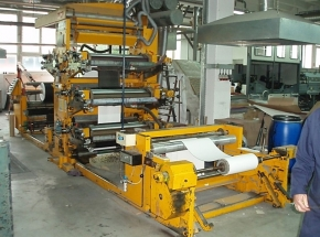4 colour flexo stack printer Fischer & Krecke 13 DF/6