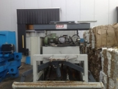 Used Baling Press Machine ABBA 400 KL