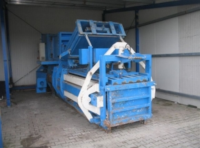 Baling press machine ABBA KV 600 V