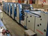 Used Business Form Printing Machine ROTATEK RK 200, 6 colour
