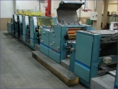 Used Business Form Printing Machine ROTATEK RK 200, 4 colour