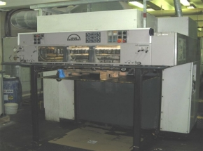 6 colour offset printing machine ROLAND R-706 LTV