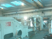 Used Carrier handel bag machine WEBER 77AFW, 4 colour flexo