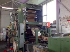 Carry bag making machine with Flathandel inline-  F+K