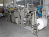 Used HOLWEG CP24TS 2-ply bag making machine