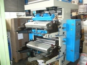 Used 2 colour flexo stack printing machine (brand new)