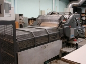 Used Hot foil stamping machine HEIDELBERG - STEUER PZ 90