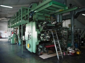 6 colour flexo CI printer FISCHER & KRECKE 14 DF 6