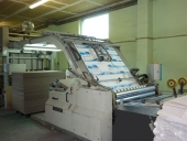 Used Laminator Sheet to sheet TUENKERS HSL-1450