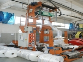 Used Extruder to foil HDPE / LDPE Alea Plastic Machinery