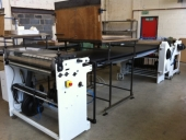 Used Laminator sheet to sheet TUENKERS Halbautomat