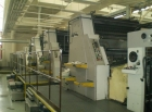 6 colour Offset printer MAN Roland R 806-6+LV