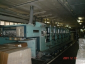 Used 6 colour Offset printing machine PLANETA Varimat V 64-2