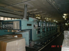 6 colour Offset printing machine PLANETA Varimat V 64-2