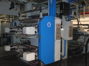 8 colour Flexo CI printing machine UTECO Amber 808