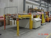 Used Cardboard and Paper Sheeter / Guillotine ROBUST