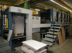 KBA RAPIDA 105-5+L CX ALV2 PWHA 5 colour offset press