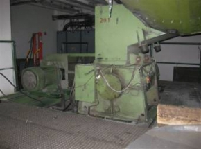 Recycling line - extruder REIFENHEUSER with cut-granulator