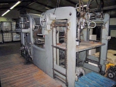 Used Super autoplatine BOBST SAP 900 - flatbed die cutting machine