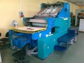 Used Die cutting Cylinder VICTORIA 1040