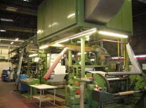 6 colour Flexo printer W+H OLYMPIA Flexorex 736NC