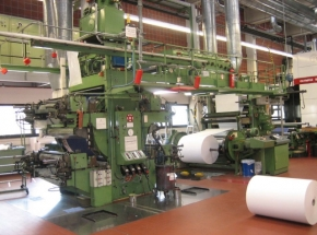 4 colour Flexo printing machine W+H Olympia 754 - Flexorex