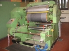 Hot foil stamping machine Heidemann - for paper roll to roll