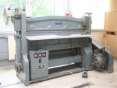Used Creasing - folding machine - for heavy cardboard SUKAMA