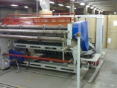 Used Special sheeter PIZZOLATO for corrugated board - roll to sheet