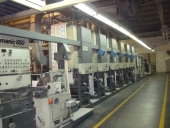 Used Bobst Lemanic - cigarette carton machine - 6 col. printing slotter