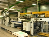 Used UV Laminator Steinemann LOTUS 102