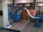 Used Slitter rewinder for gift- and wrapping paper, poster, wallpaper...