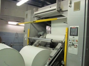 Web Offset Press MAN ROLAND LITHOMAN IV, 4 colour