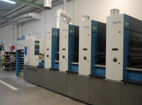 5 colour offset press KBA RAPIDA 74-5 PWHA