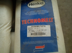 Hot melt glue for packaging HENKEL TECHNOMELT VS 743