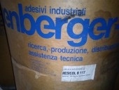 Used 900 kg LEUENBERGER RESICOL B 117 Industrial synthetic glue