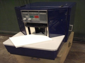 Paper sheet counting machine VACUUMATIC VICOUNT 100