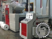 Used Laminating machine COMEXI SL PLC - roll to roll - SOLVENTLESS