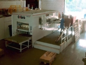 Used Flatbed Die cutter IMG KLETT Cobra - automat