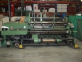 Used Slitter and rewinder KAMPF Universal