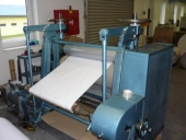 Used Calander - Embossing machine, working width: 1000 mm