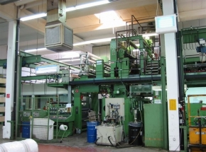 Solventless lamintaor W+H - roll to roll - width: 1830 mm
