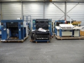 Used 4 colour offset press KBA RA 105-4+L (sheet-sheet)